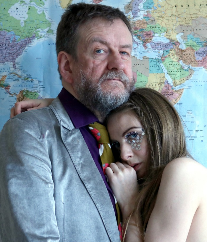 Duglas T Stewart and Chloe Philip of BMX Bandits