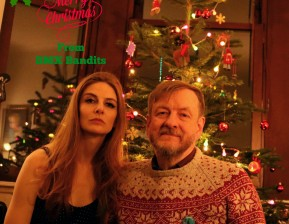 Chloe & Duglas BMX bandits at Christmas